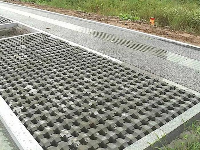 PC仿石透水砖案例